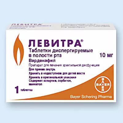 Левитра таблетки 20 мг улучшают эрекцию полового члена